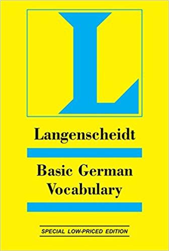 Basic German Vocabulary کتاب آموزش آلمانی